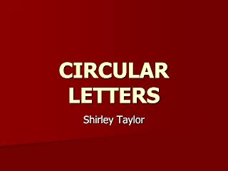 Write a circular letter announcing the establishment of new business